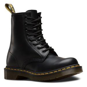 Dr. Martens Black 1460 W Boots - Sz 6